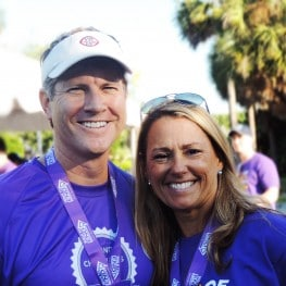 Hank Cleare Kim DeProspero Walk to End ALZ