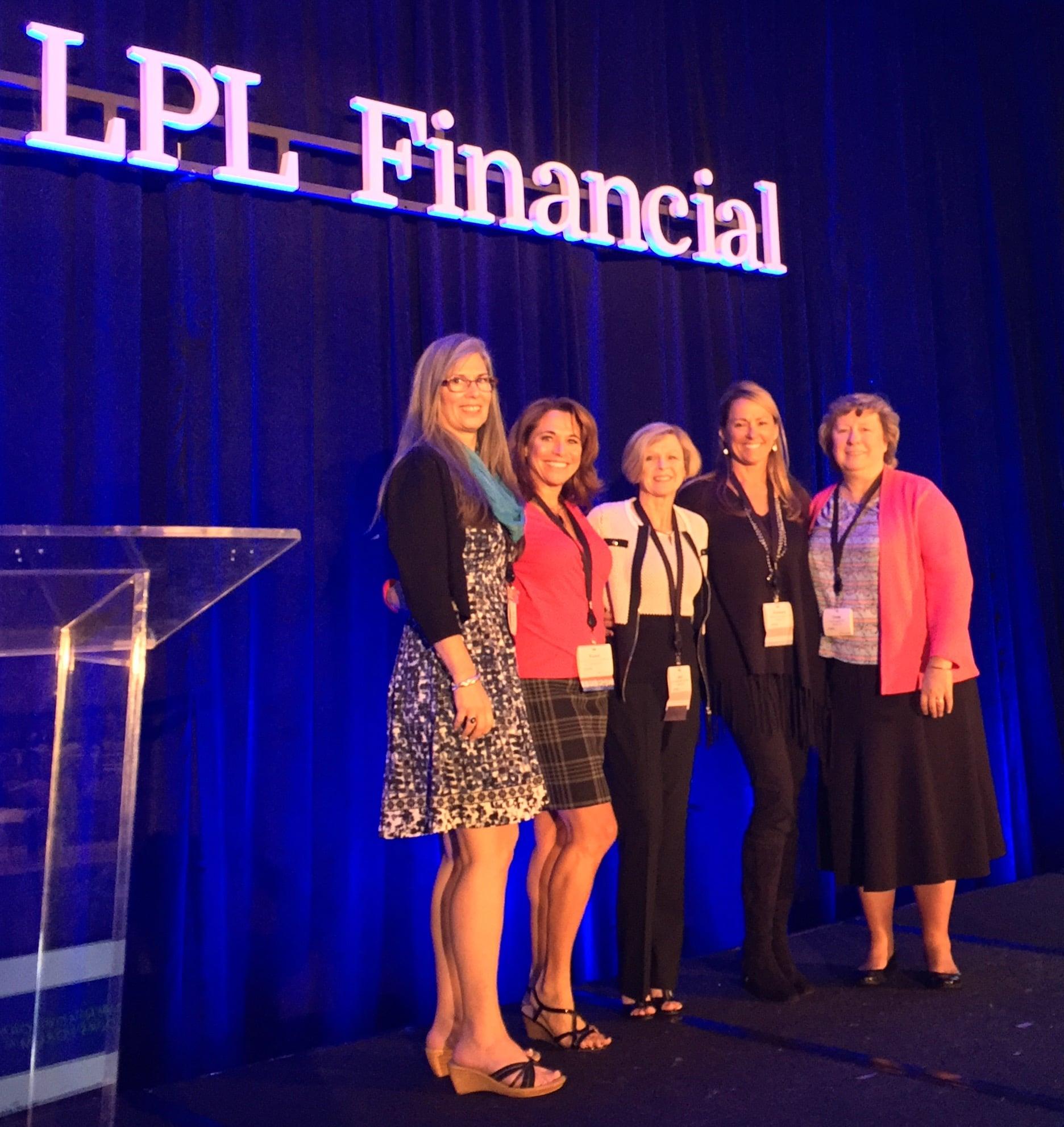 financial strategies group blog giving more kimberly deprospero cfp® attends lpl financial s women advisors leadership forum