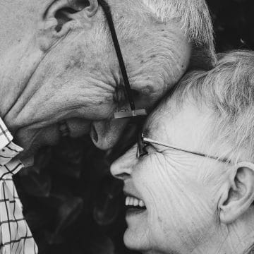 Picture of happy senior couple. Financial Strategies Group helps aging clients with proactive planning.